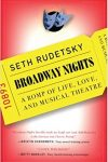 RUDETSKY--BROADWAY NIGHTS cover
